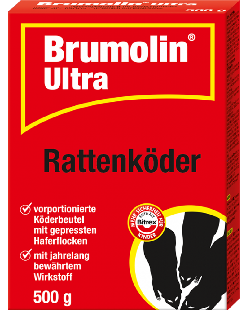 Brumolin Ultra Rattenköder 500 gr