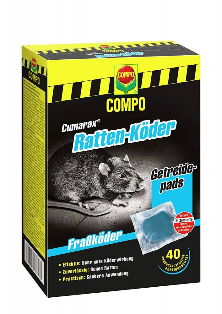 Compo Cumarax Rattenköder 400 gr-