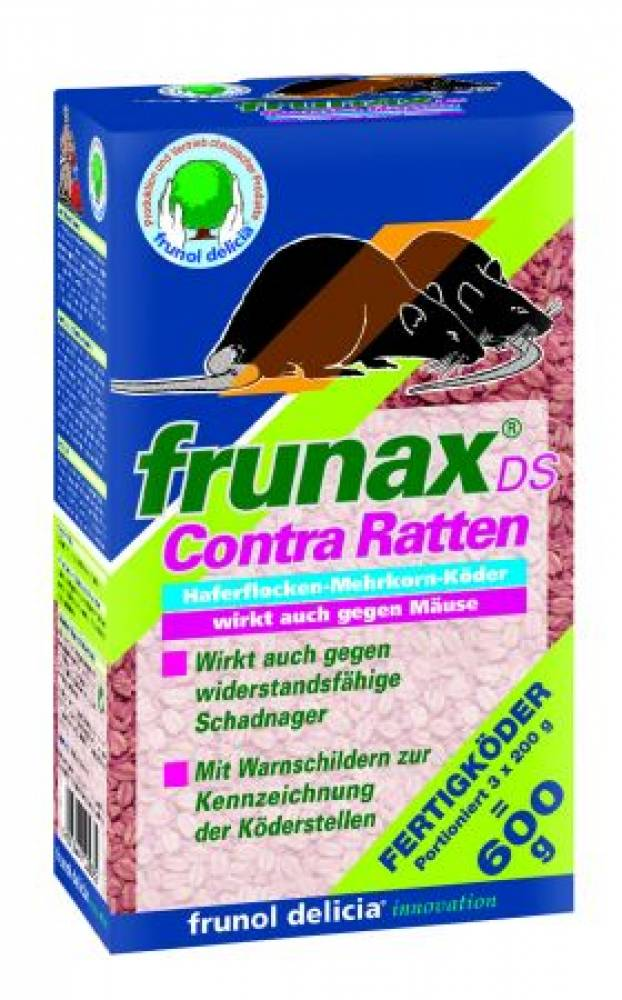 frunax DS Contra Ratten 25ppm 3x200 gr
