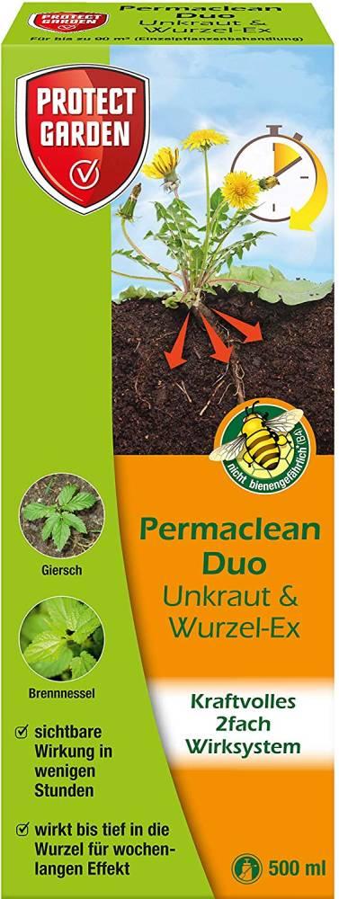 Permaclean Duo Unkraut und Wurzel Ex Protect Garden (Grösse: 500 ml)