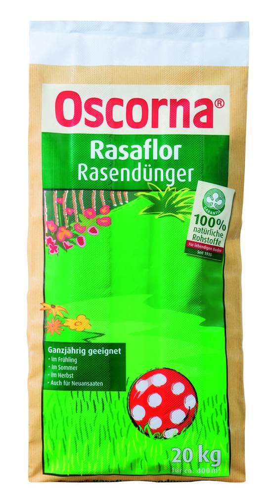 Rasaflor Rasendünger Oscorna 20 KG
