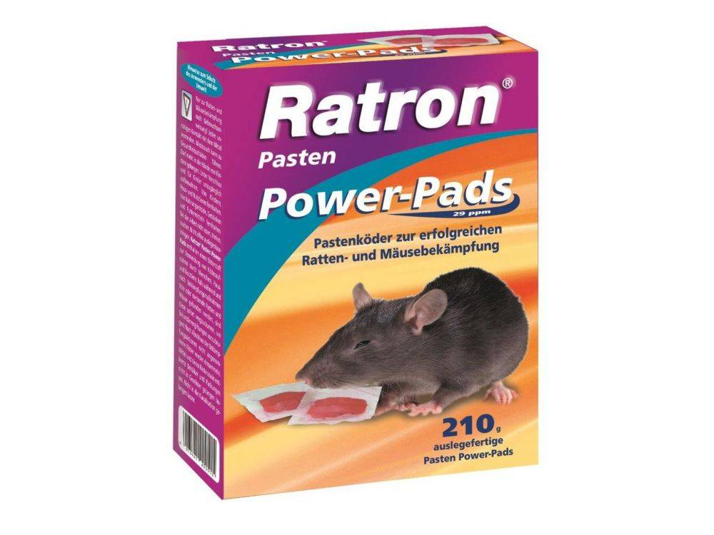 Ratron Pasten Power-Pads (Grösse: 210 gr-)