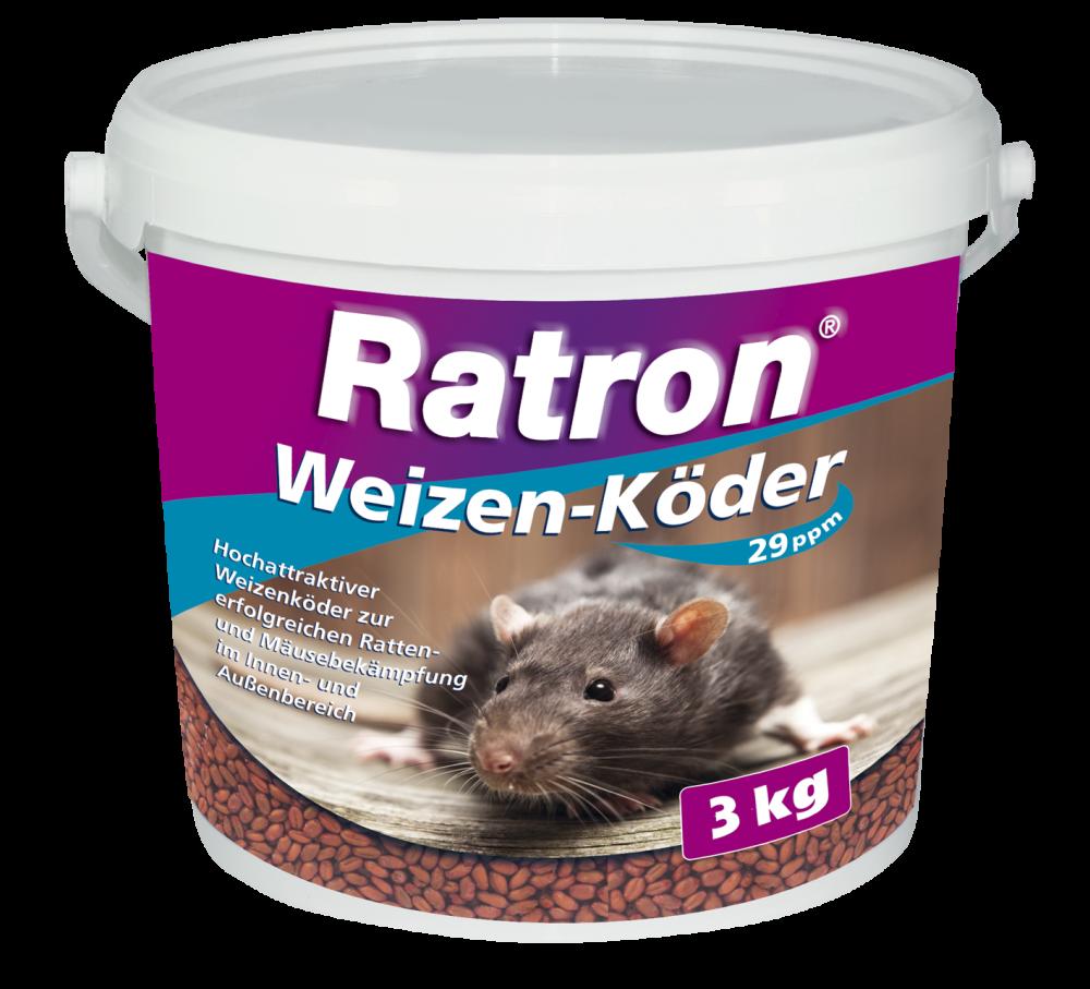 Ratron Weizenköder 29ppm 3 KG Eimer