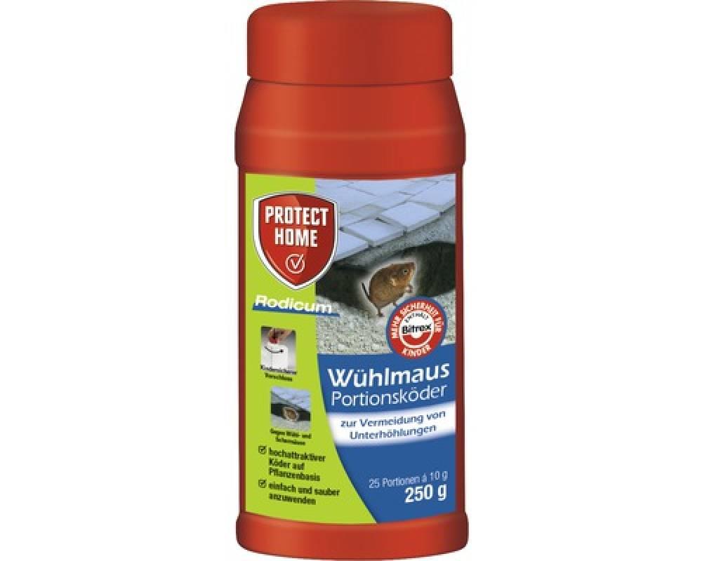 Rodicum Wühlmaus-Portionsköder 250 gr-