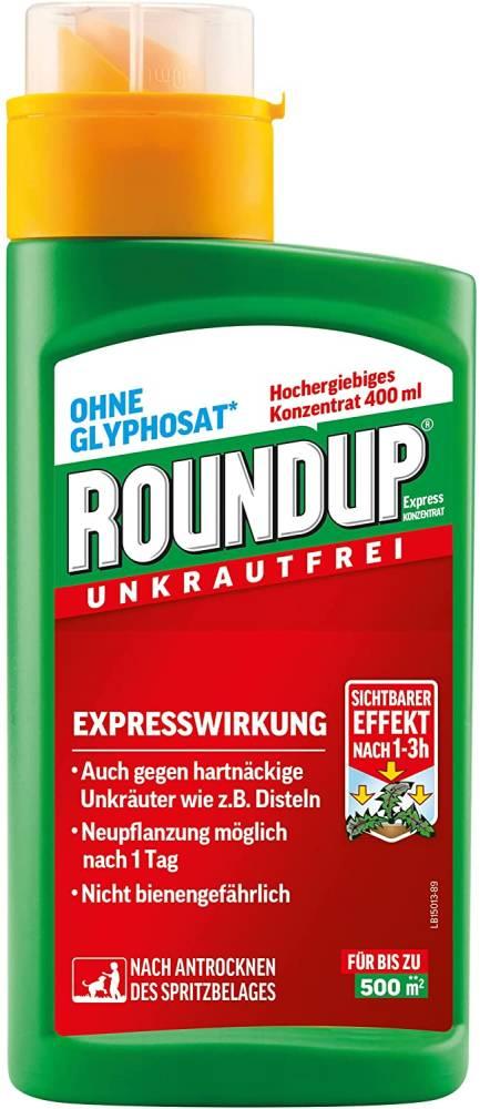 Roundup Unkrautfrei Express Konzentrat (Grösse: 400 ml)