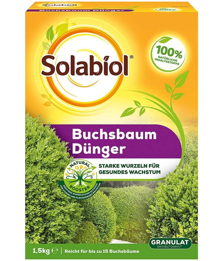 Solabiol Buchsbaum Dünger Granulat 1-5 KG