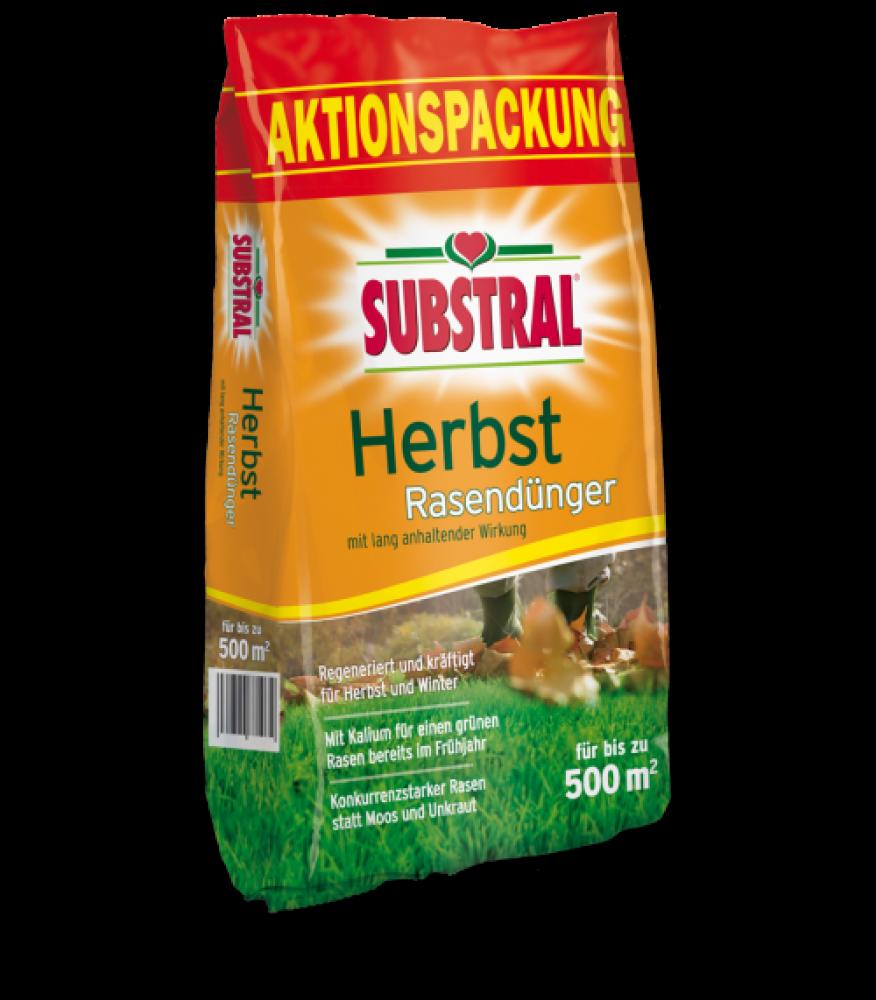 Substral Herbst-Rasendünger 12-5 KG für 500 m-