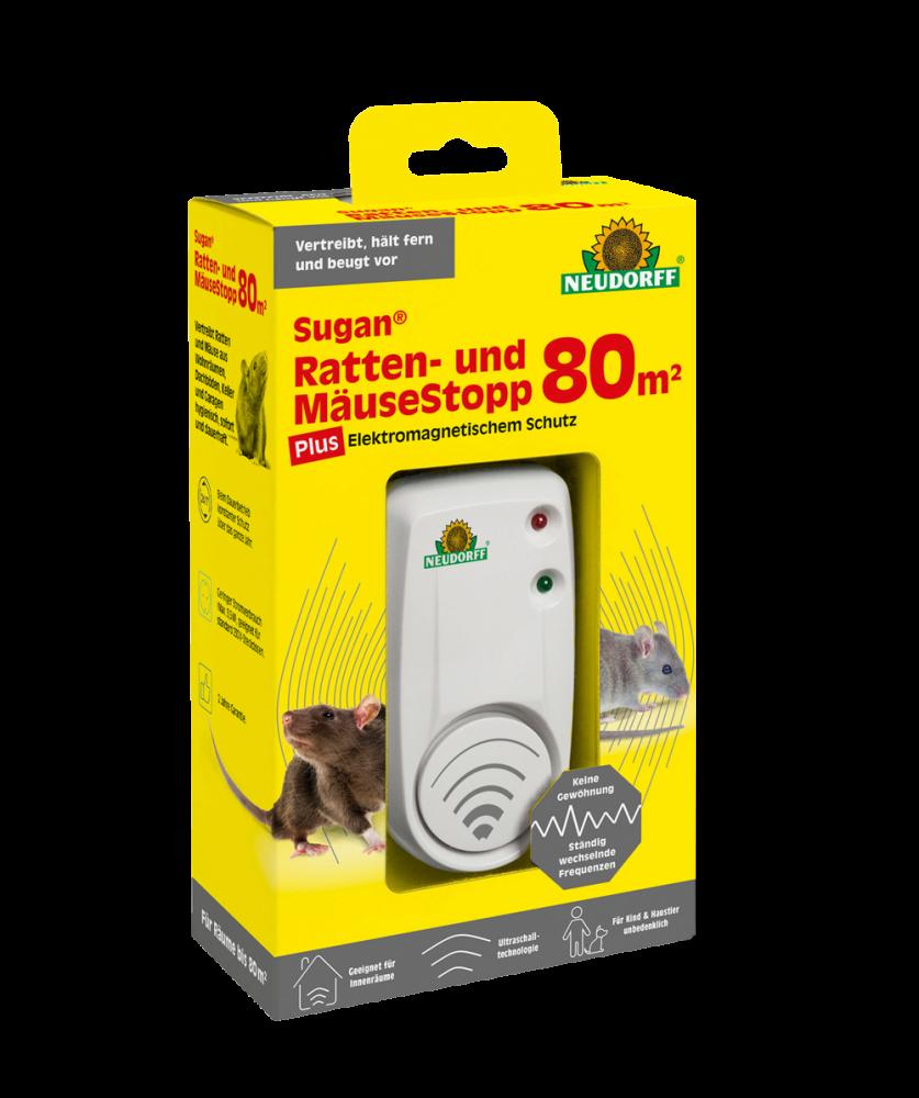 Sugan Ratten- und Mäuse Stopp- elektromagnetischer Schutz (Grösse: 80 m-)
